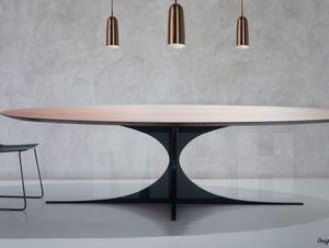 MBH INTERIOR - quasar - Table De Repas Ovale