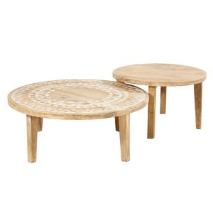 Bow Table Basse Ronde Maisons Du Monde Decofinder