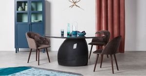 MADE -  - Table De Repas Ronde