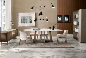 ITALY DREAM DESIGN - mia - Table De Repas Ovale