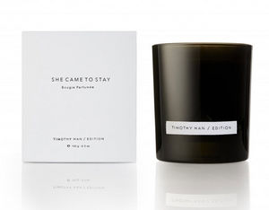 TIMOTHY HAN EDITION - she came to stay - Bougie Parfumée