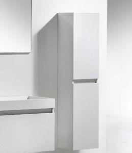 Thalassor - city 35 bianco - Colonne De Rangement Simple De Salle De Bains