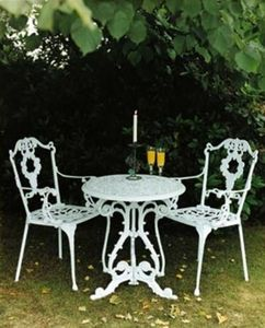 Jardine Leisure - georgian - Table De Jardin Ronde