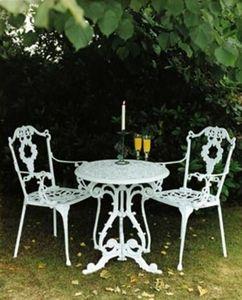 Jardine Leisure - georgian - Table De Jardin Ronde