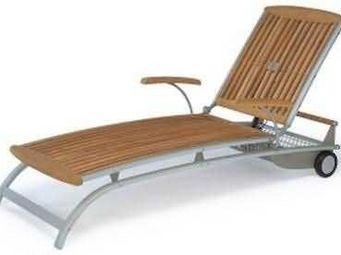 Fischer Mobel - centro - Chaise Longue De Jardin