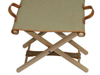 Hidden Cabin - folding camp stool - canvas - Tabouret De Jardin