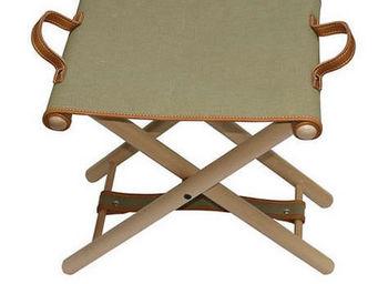 Hidden Cabin - folding camp stool - canvas - Tabouret De Jardin