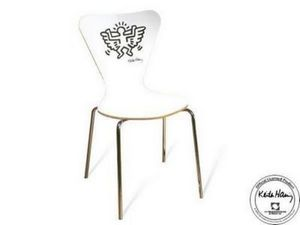 Mathi Design - chaise_keith_haring_angel - Chaise