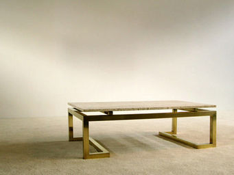 FURNITURE-LOVE.COM - modern rectangular elegant regency coffee table - Table Basse Rectangulaire