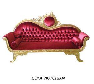 DECO PRIVE - sofa victorian 3 places - sur commande - Canapé 3 Places
