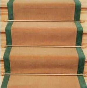 Tapis d 39 escalier hartley tissier decofinder - Moquette per scale ...