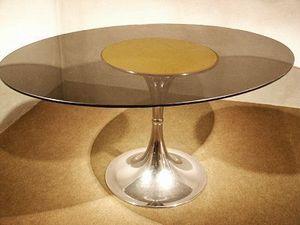 Au Réveil du Temps -  - Table De Repas Ovale