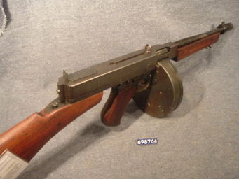 LE HUssARD - pm thompson mle 1928 a1 neutralisé - Carabine Et Fusil