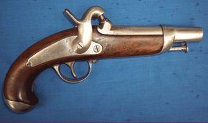 Cedric Rolly Armes Anciennes - pistolet modele 1842 de gendarmerie - Pistolet Et R�volver