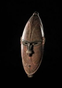 Chris Boylan - masque de danse - Masque Océanien