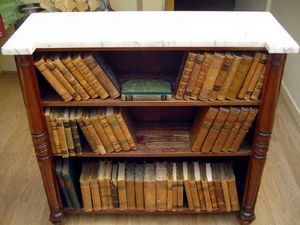 Brookes-Smith - a george iv bookcase - Meuble De Libraire