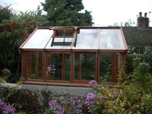 Harris Timber Products - classis cedar greenhouse - Serre