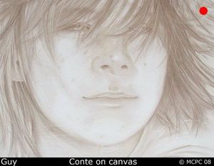 Mark Paradine Cullup - guy - Dessin Au Crayon
