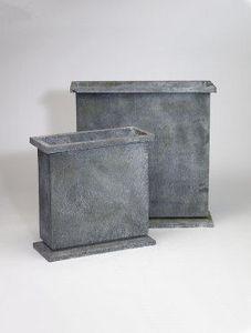 DESIGNER PLANTERS - galvanised steel planters - Pot De Jardin