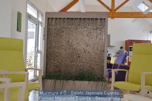 ETIK&O - murmure d'� galets japonais - Mur D'eau