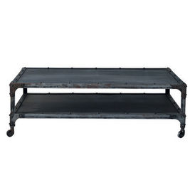 Table basse newton table basse roulettes maisons du - Table basse maison du monde occasion ...