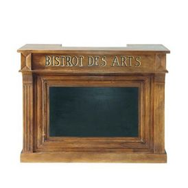 Bar bistrot comptoir de bar maisons du monde - Comptoir du monde meubles ...