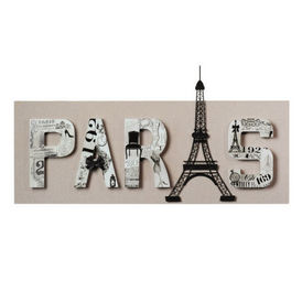 Meuble Haut Micro Onde Ikea : Toile Paris Haussman  Toile  Maisons du monde