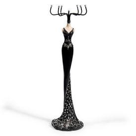 porte bijoux lady jewel noir porte bijoux maisons du monde. Black Bedroom Furniture Sets. Home Design Ideas