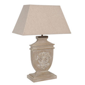 Lampe lys bois c rus lampe poser maisons du monde for Maison du monde lampe