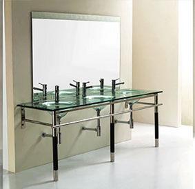 meuble de salle de bains - verre - my design | decofinder - My Design Meuble