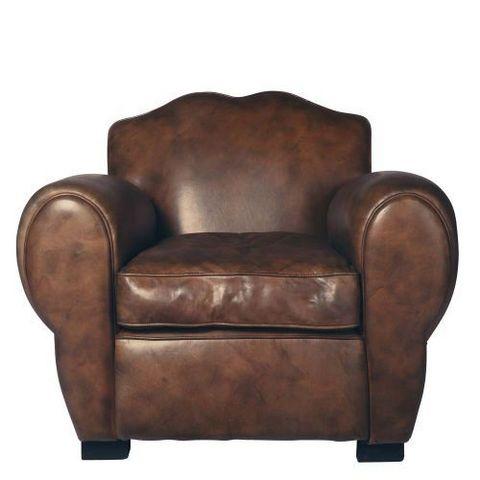 fauteuil moustache fauteuil club maisons du monde. Black Bedroom Furniture Sets. Home Design Ideas