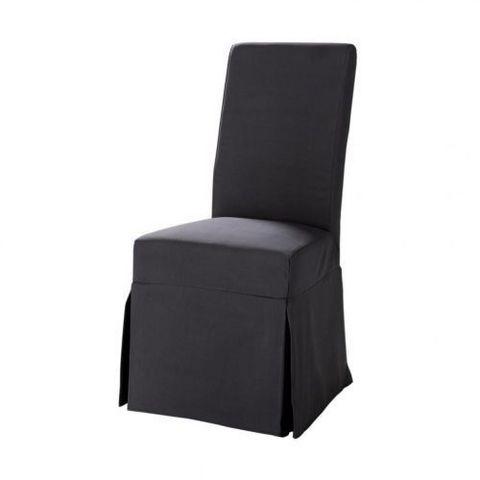 housse gris ardoise margaux housse de chaise maisons. Black Bedroom Furniture Sets. Home Design Ideas