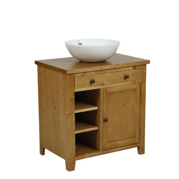 Meuble salle de bain avec vasque bathroomone - Petit meuble salle de bain avec vasque ...