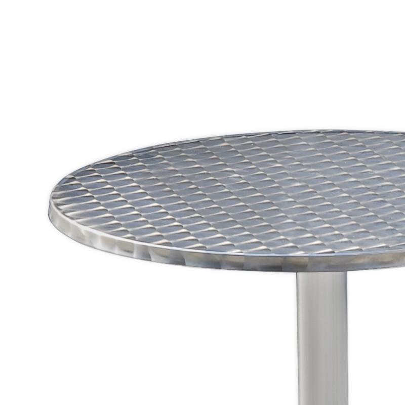 table bistrot rabattable hauteur r glable mange debout white. Black Bedroom Furniture Sets. Home Design Ideas