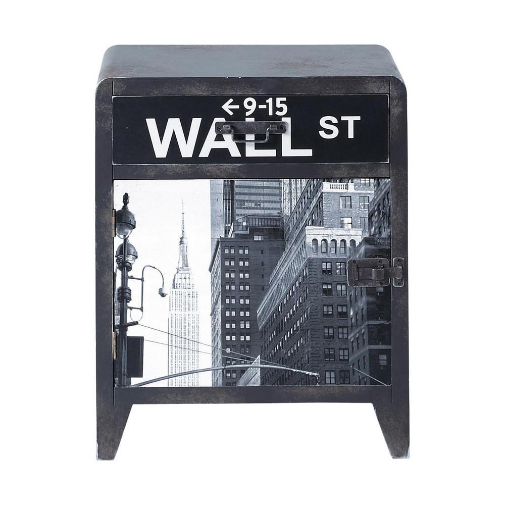 Wall Street Table De Chevet Maisons Du Monde
