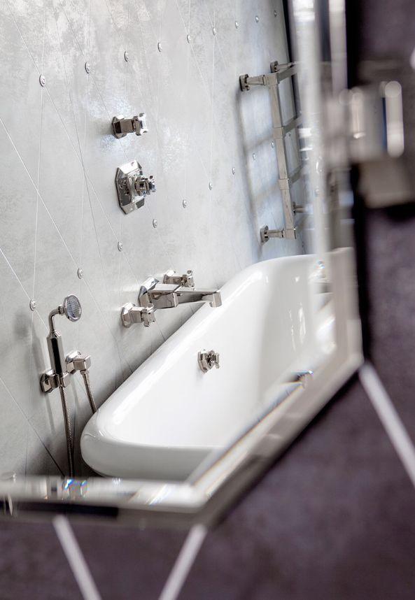 art deco m langeur bain douche argente volevatch decofinder. Black Bedroom Furniture Sets. Home Design Ideas