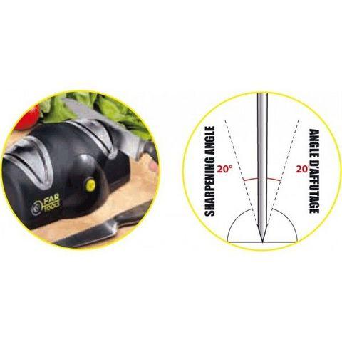 FARTOOLS - Aiguiseur électrique-FARTOOLS-Aiguiseur ménager pour couteau et ciseau FARTOOLS