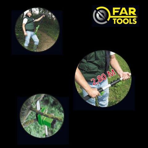 FARTOOLS - Tronçonneuse-FARTOOLS-tronconneuse elagueuse électrique 850 watts  farto