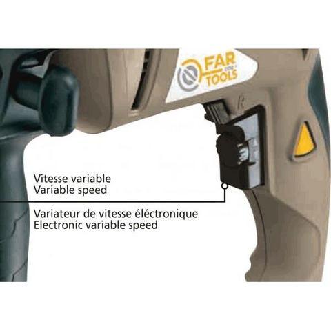 FARTOOLS - Perceuse électrique-FARTOOLS-Perceuse à percussion 750 watts Fartools