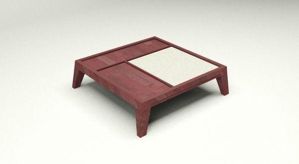 ARTEZEN - Table basse carrée-ARTEZEN-BASILIQUE