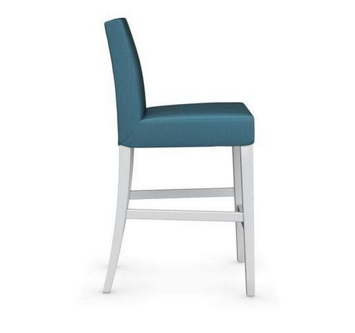 Calligaris - Chaise haute de bar-Calligaris-Chaise de bar LATINA de CALLIGARIS aigue marine et