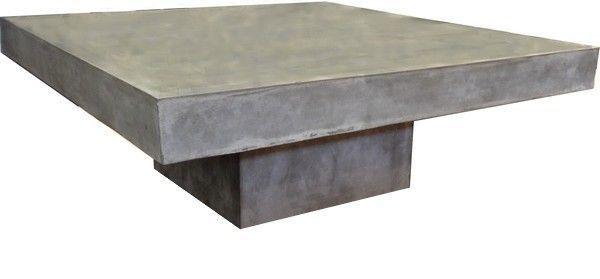 Mathi Design - Table basse forme originale-Mathi Design-Table basse beton