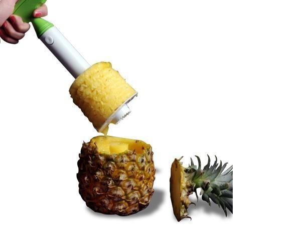 WHITE LABEL - Vide-ananas-WHITE LABEL-La découpe ananas facile deco maison ustensile cui