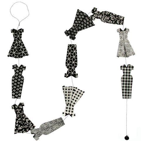 Lamali - Guirlande-Lamali-Guirlande fashion en papier Lokta 150cm