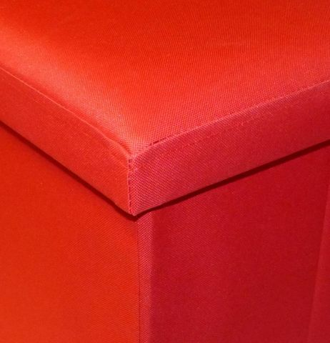 Cotton Wood - Pouf-Cotton Wood-Pouf Pliable Oxford Rouge