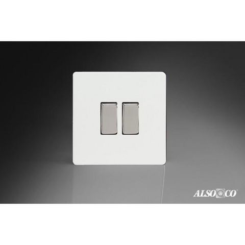 ALSO & CO - Interrupteur double-ALSO & CO-Double Rocker Switch