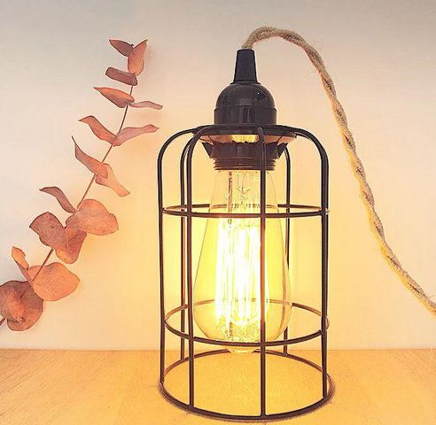 AN°SO - Lampe portative-AN°SO-lampe cage
