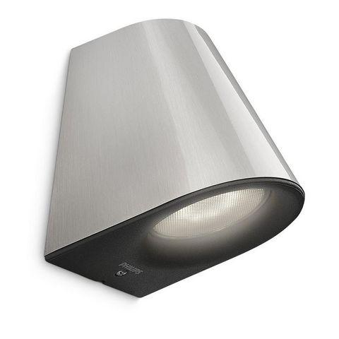 Philips - Applique d'extérieur-Philips-LED extérieur Virga IP44 H12 cm