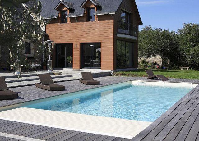 CARON PISCINES - Couverture de piscine automatique-CARON PISCINES-Smart Cover--