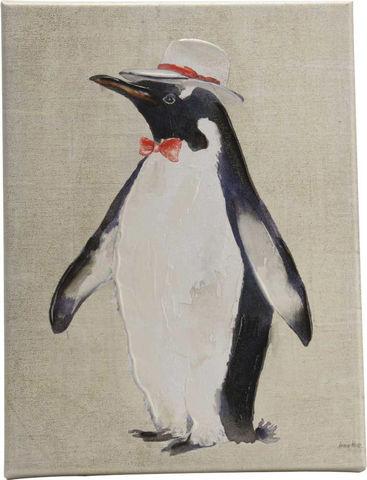 Amadeus - Tableau décoratif-Amadeus-Toile pingouin fun